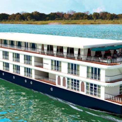 Luxury cruise liner to Varanasi and Dhaka