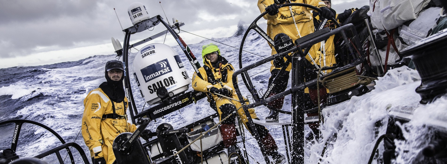 Abu Dhabi Ocean Racing Storms Around Cape Horn in Second