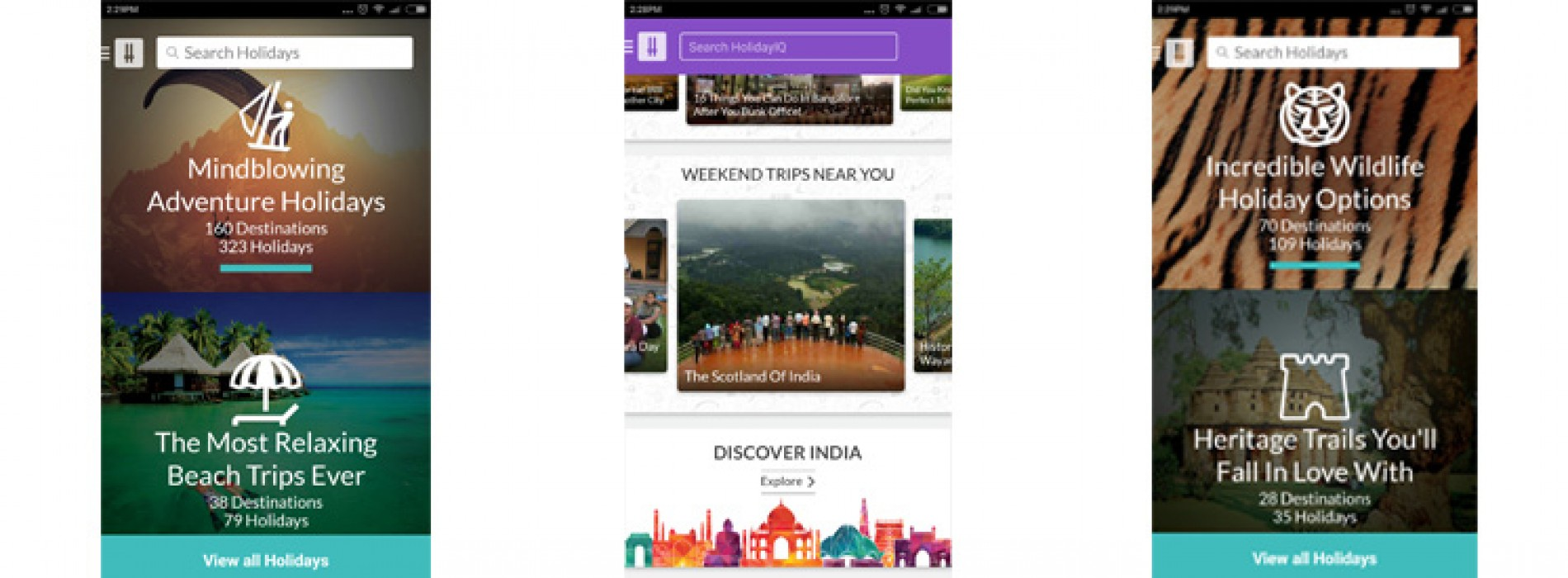 HolidayIQ.com launches India's first Mobile-only Holidays marketplace
