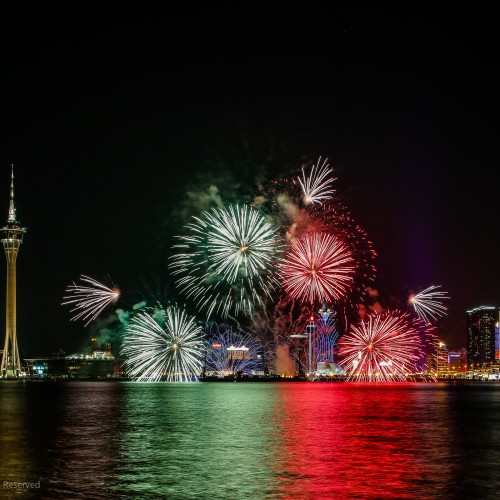 Witness Spectacular Pyrotechnics at this year's Macau International Fireworks Display