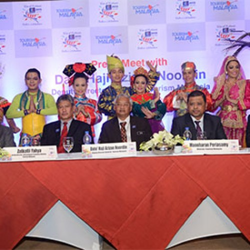 Tourism Malaysia Promotes MYFest 2015 in India