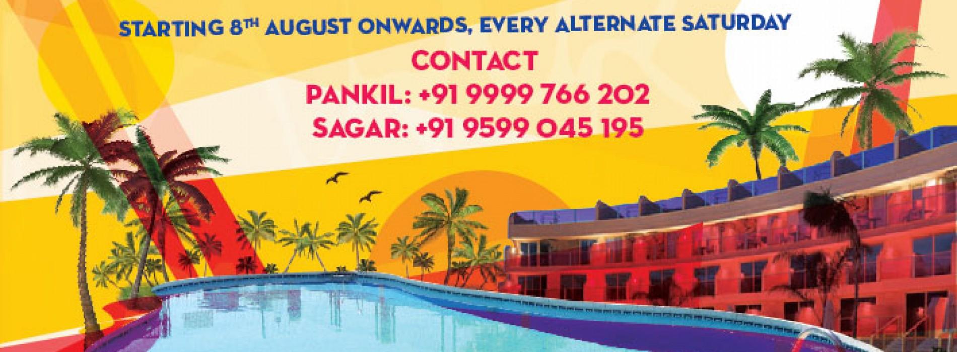 Weekend Getaway & pool party events in delhi