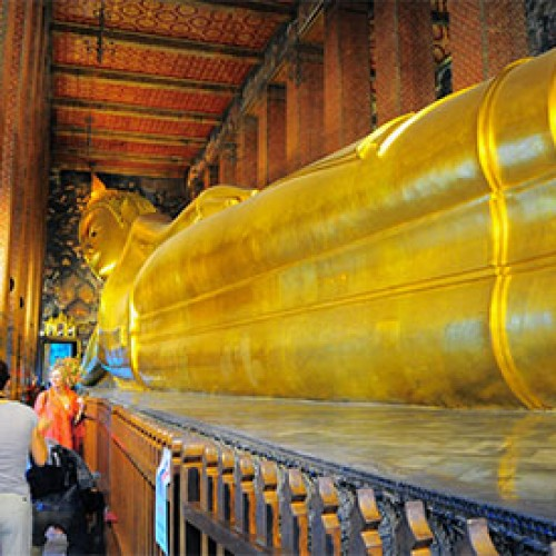 Wat Pho's Reclining Buddha among 10 of the World's most impressive religious statues