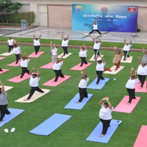 Jaypee Hotels celebrated International Yoga Day