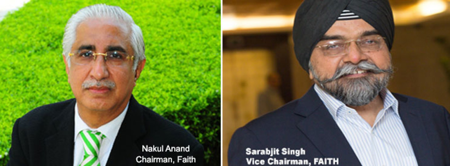 Anand, Singh, re-elected as FAITH Chairman and Vice Chairman