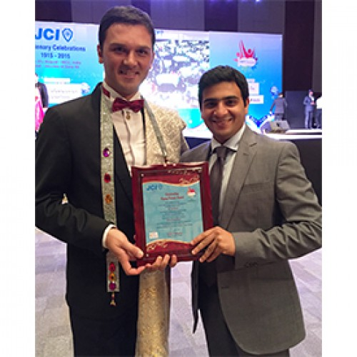 Dev Karvat recognized 'Outstanding Young Person of India'