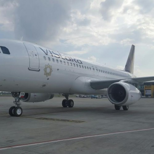 Vistara welcomes seventh Airbus A-320 in its existing fleet of six aircraft