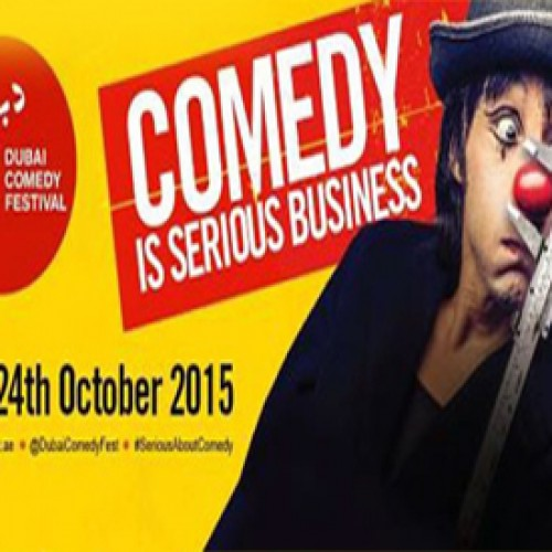 Dubai Comedy Festival a must visit for comedy lovers this October