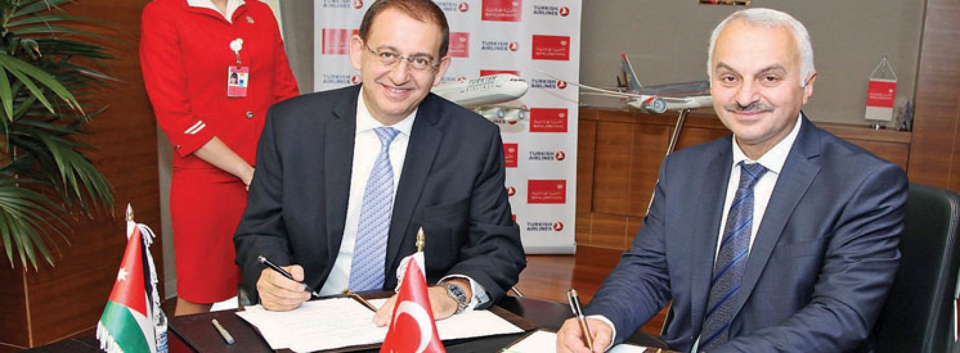 Royal Jordanian, Turkish Airlines Sign Code Share Agreement