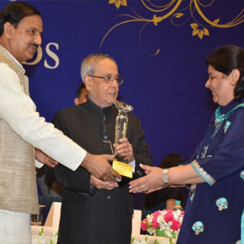 Jaypee Palace & International Convention Centre, Agra awarded Best Meeting Venue Hotel at National Tourism Awards 2013-14