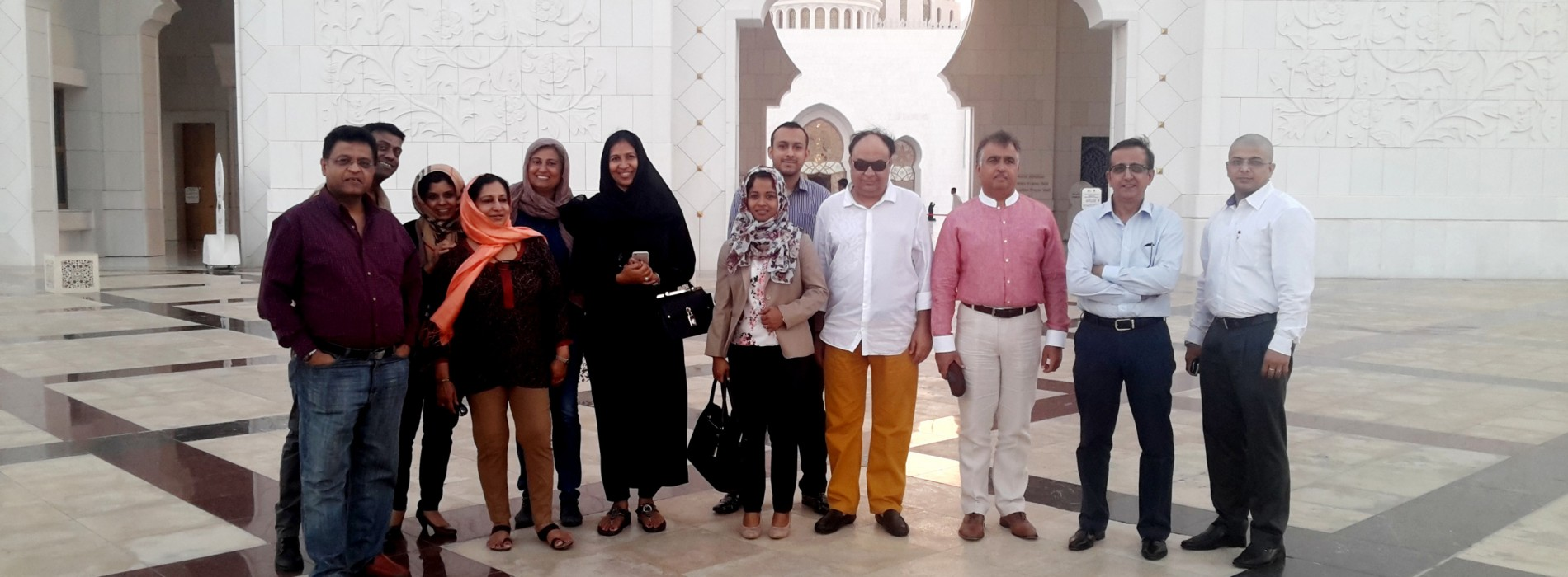 Indian Travel Trade Professionals Experience Destination Abu Dhabi