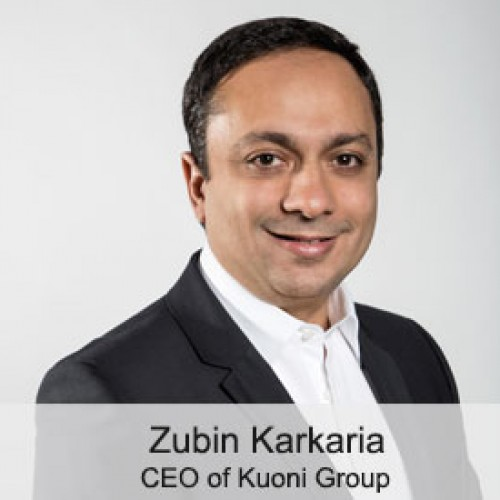 Zubin Karkaria appointed as CEO of Kuoni Group
