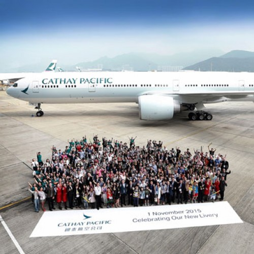 Cathay Pacific unveils changes to its aircraft livery