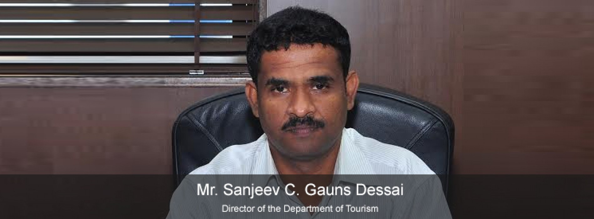 Mr. Sanjeev C. Gauns Dessai takes over as new Tourism Director of Goa