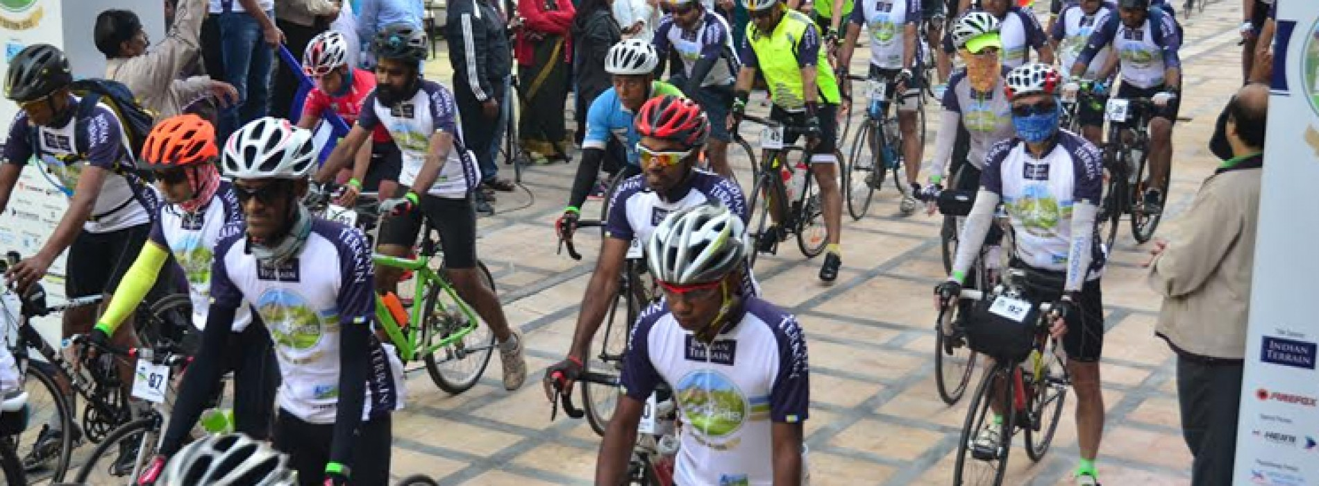 109 riders begin the Indian Terrain Tour of Nilgiris from Bengaluru