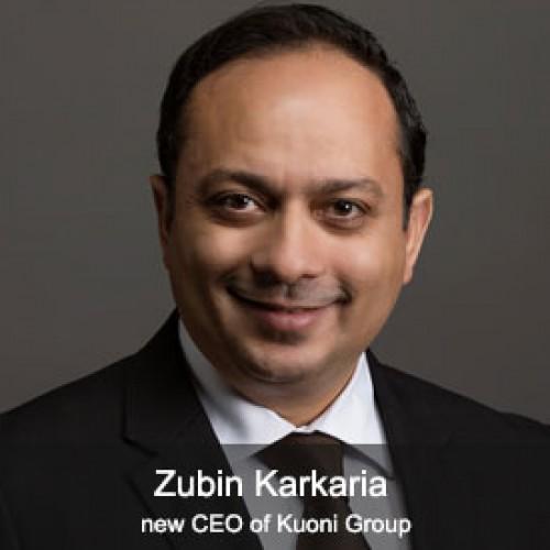 Zubin Karkaria: new CEO of Kuoni Group