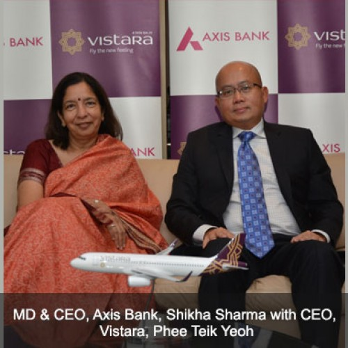 Axis Bank, Vistara join hands to introduce cobranded credit card