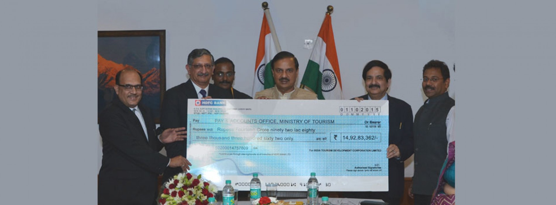 ITDC pays Rs 18.88 crore dividend to the government