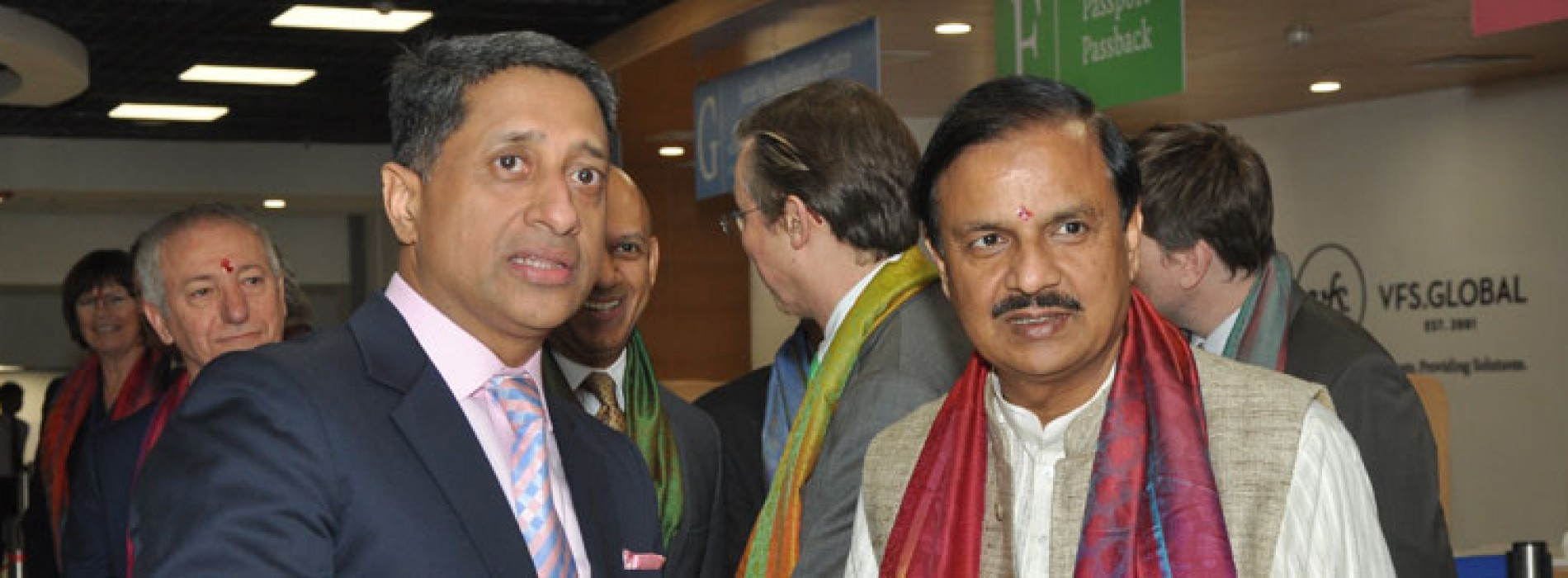 Dr. Mahesh Sharma inaugurates Asia's largest Visa Application Centre in Connaught Place