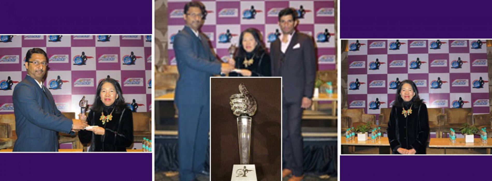 """Director Tourism Authority of Thailand (TAT) New Delhi awarded as """"Super Women"""""""