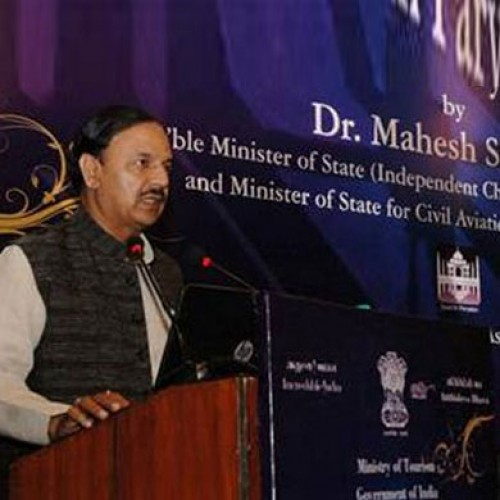 Dr. Mahesh Sharma Launches 'Swachh Paryatan Mobile App'