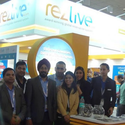 RezLive.Com Dazzles at SATTE 2016, New Delhi