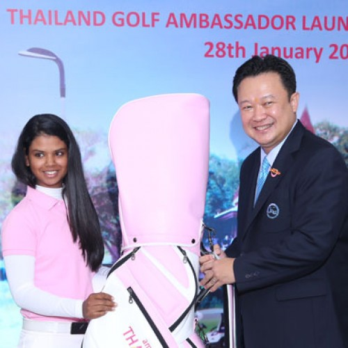 Thailand Appoints Indian Female Golfer as Thailand Golf Ambassador