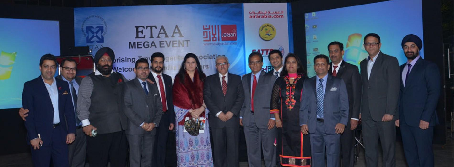 Jordan Tourism Board kicks off 2016 with the ETAA Mega Meet