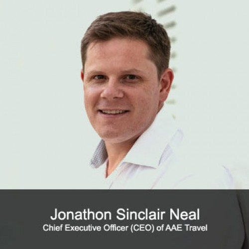 Jonathon Sinclair Neal (Chief Executive Officer (CEO) of AAE Travel)
