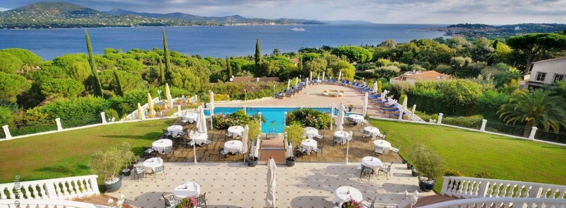 Althoff hotel villa belrose in saint tropez joins small for Luxury hotels of the world