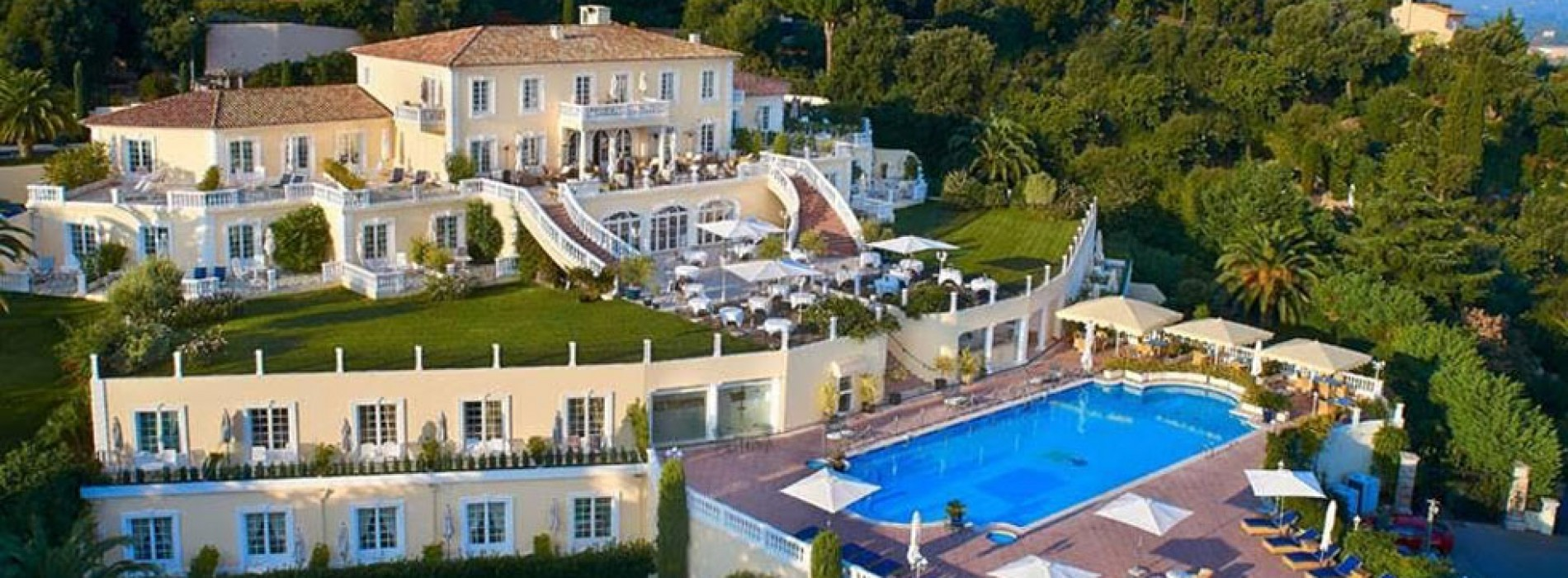 Althoff hotel villa belrose in saint tropez joins small for Small luxury inns