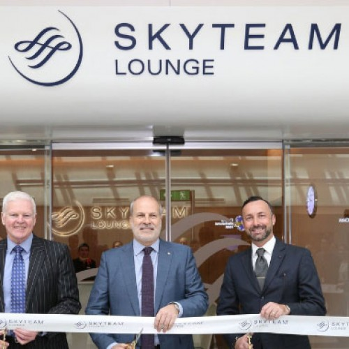 SKYTEAM OPENS NEW LOUNGE AT DUBAI INTERNATIONAL AIRPORT