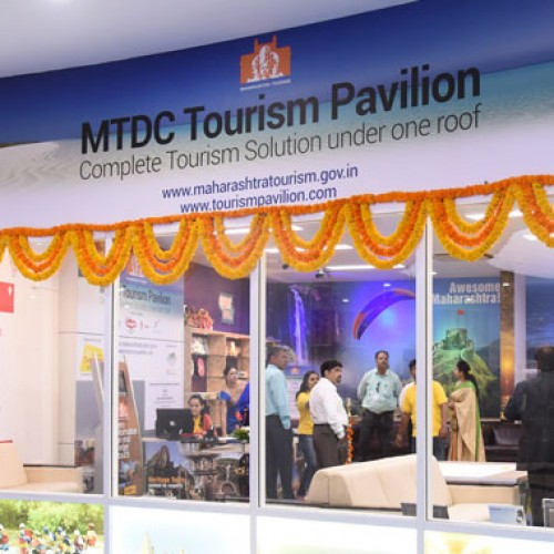 Chief Minister inaugurated MTDC's Infosys Tourism Pavilion