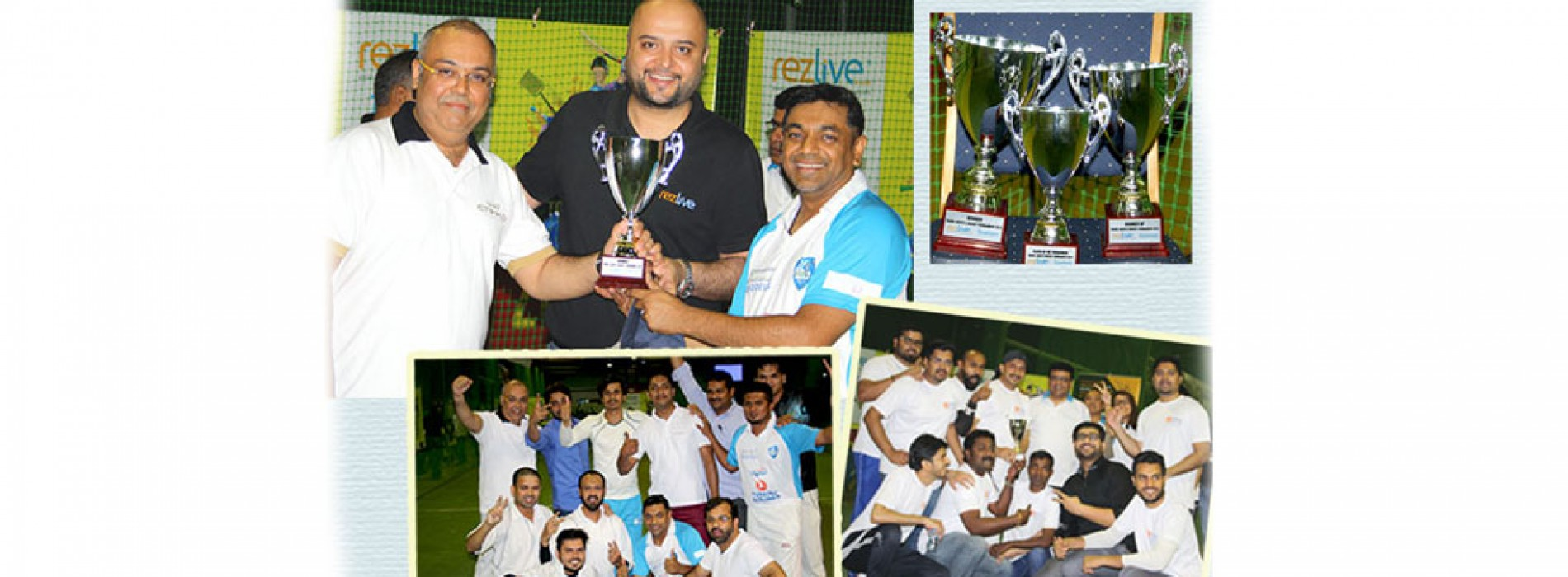 Omeir Travel wins RezLive.com-Travelwebme 2016 Cricket Tournament