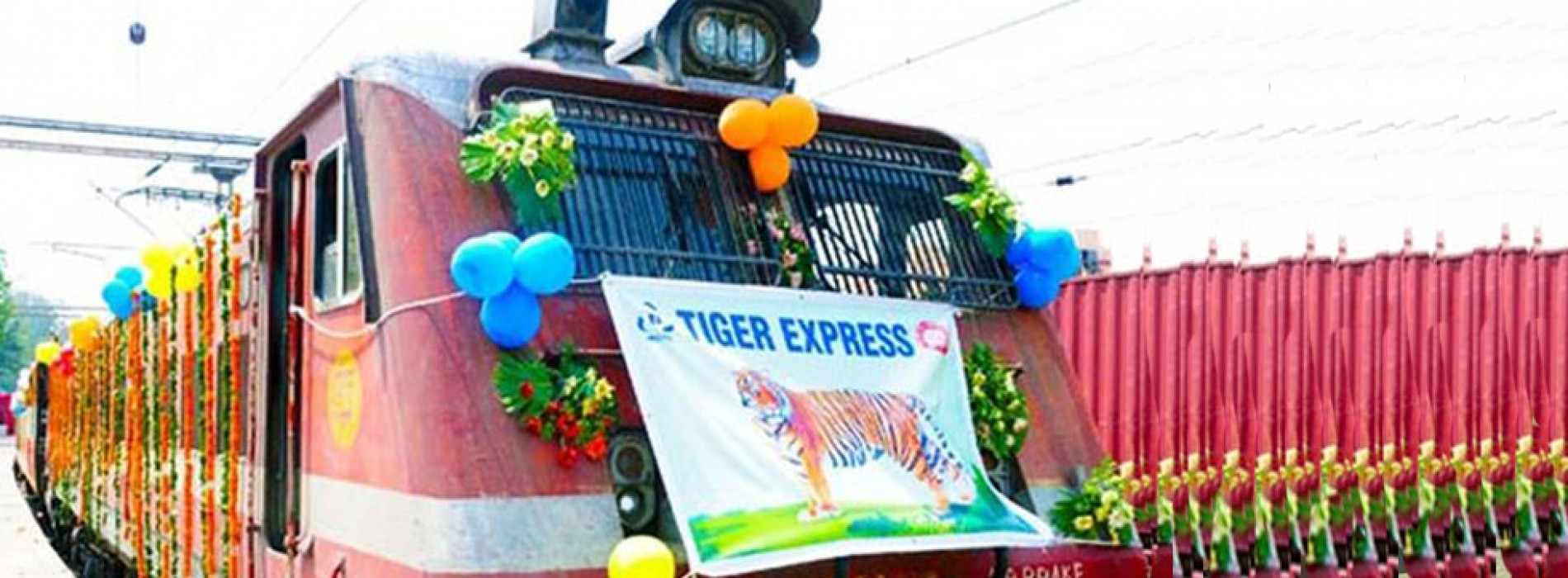Indian Railways inaugurates 'Tiger Express' train