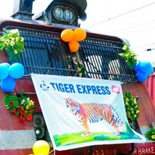Indian Railways inaugurates 'Tiger Express' train
