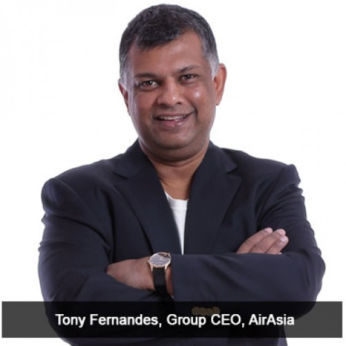 AIRASIA GROUP CEO TONY FERNANDES RECEIVES OCI STATUS