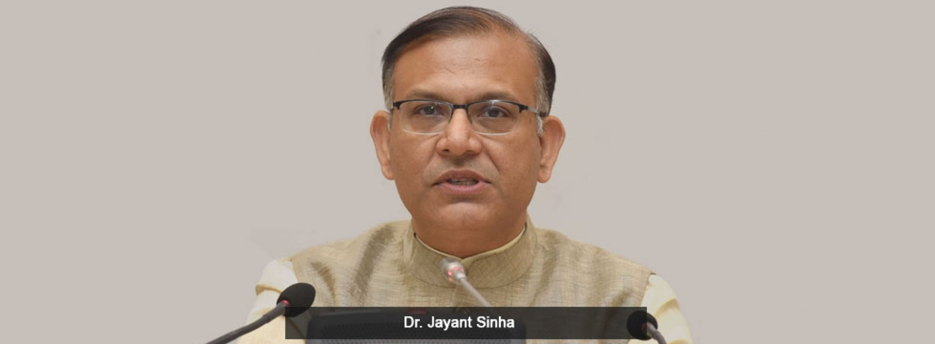 Dr Jayant Sinha becomes the new MoS of Civil Aviation