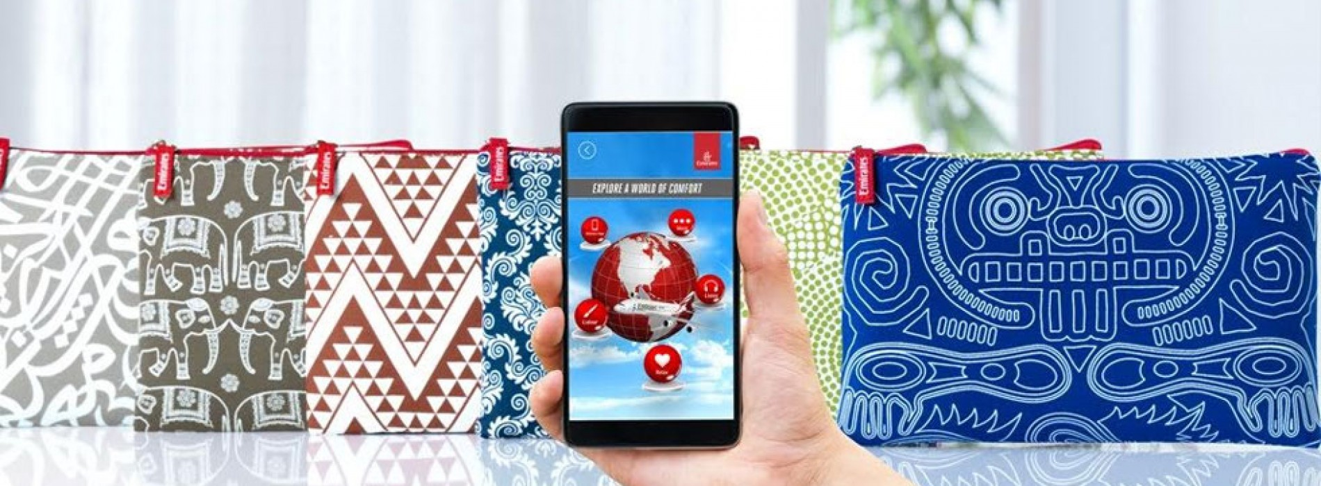 Emirates introduces the world's first interactive amenity kit in Economy Class