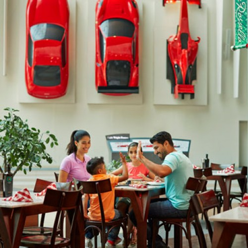 New family & friends offer at Ferrari World Abu Dhabi this Summer