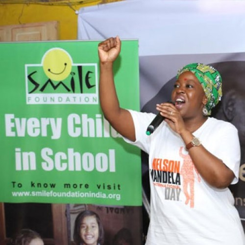 South African Consulate and Smile Foundation celebrated 'Mandela Day' in Mumbai