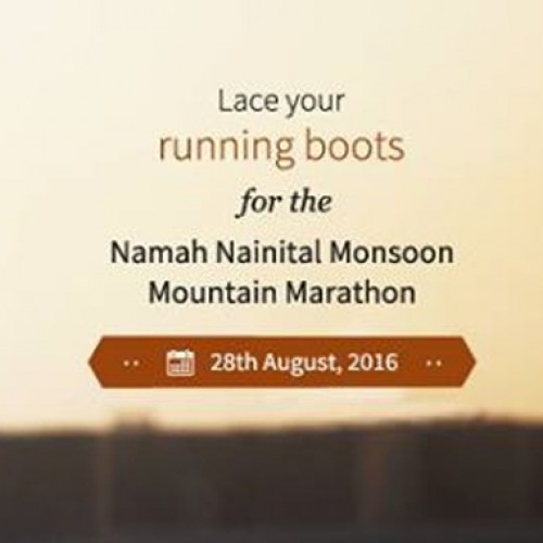 Namah Nainital Monsoon Mountain Marathon is on 28th August 2016