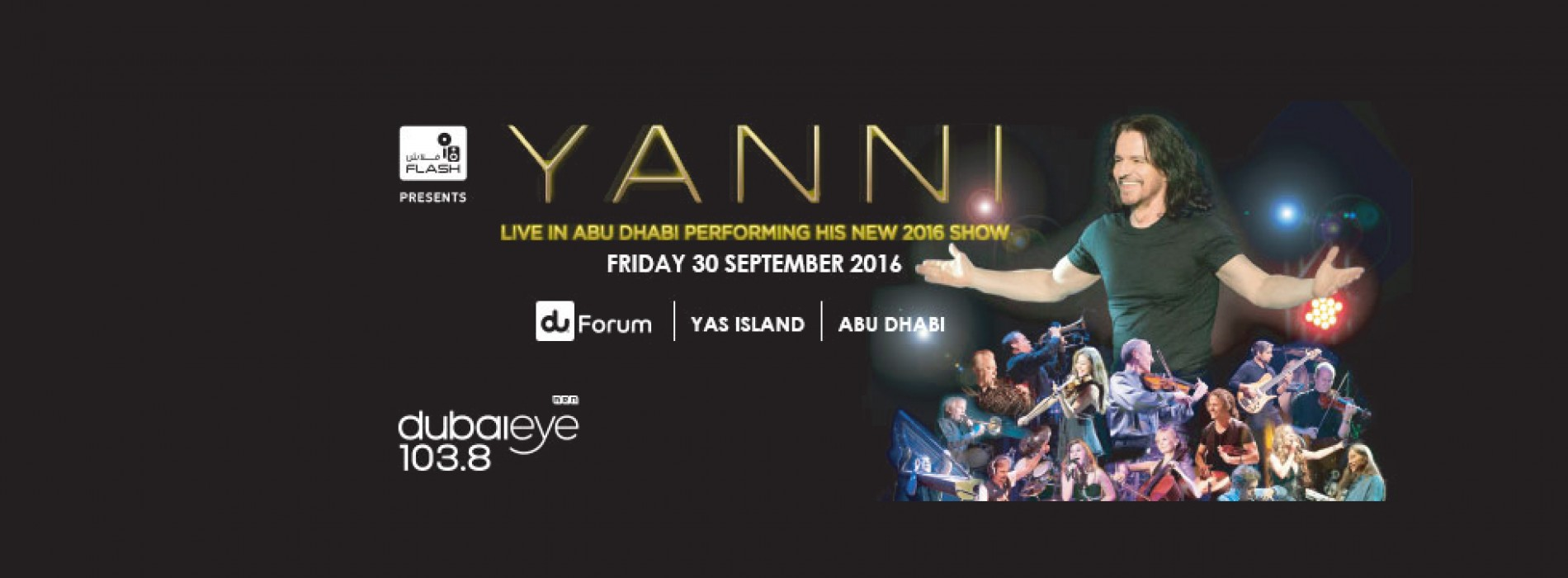 Yanni set to scintillate Abu Dhabi with his brand new live performance