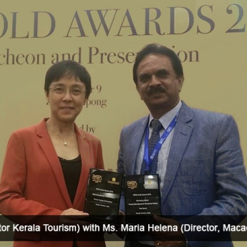 Gold Rush for Kerala Tourism at PATA awards