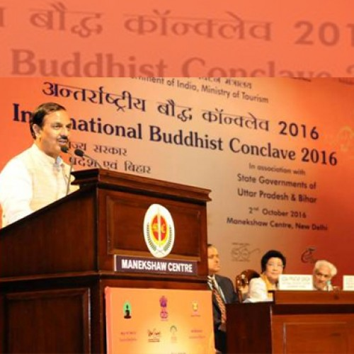 Solution of all problems lies in Buddhism-Dr Mahesh Sharma