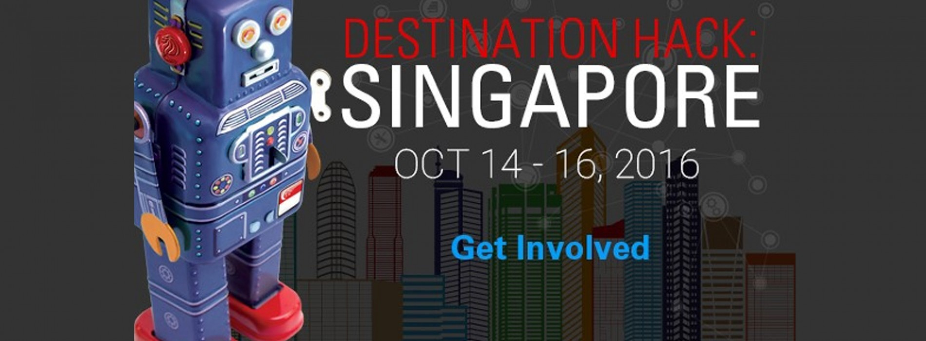 Global developer community will compete to 'Reinvent Travel' at Destination Hack: Singapore