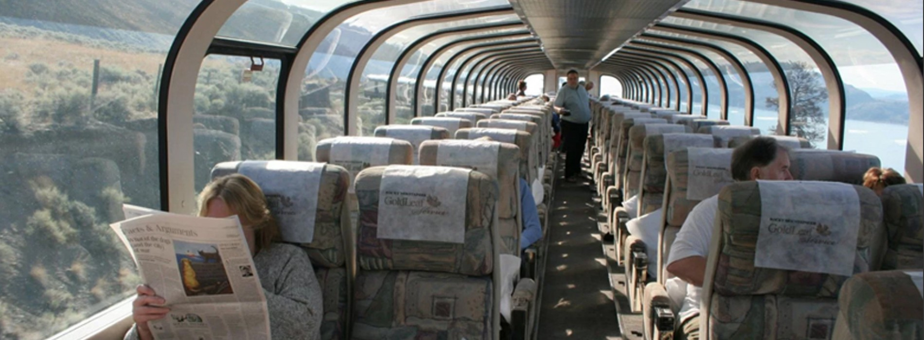 Indian trains to get glass ceilings