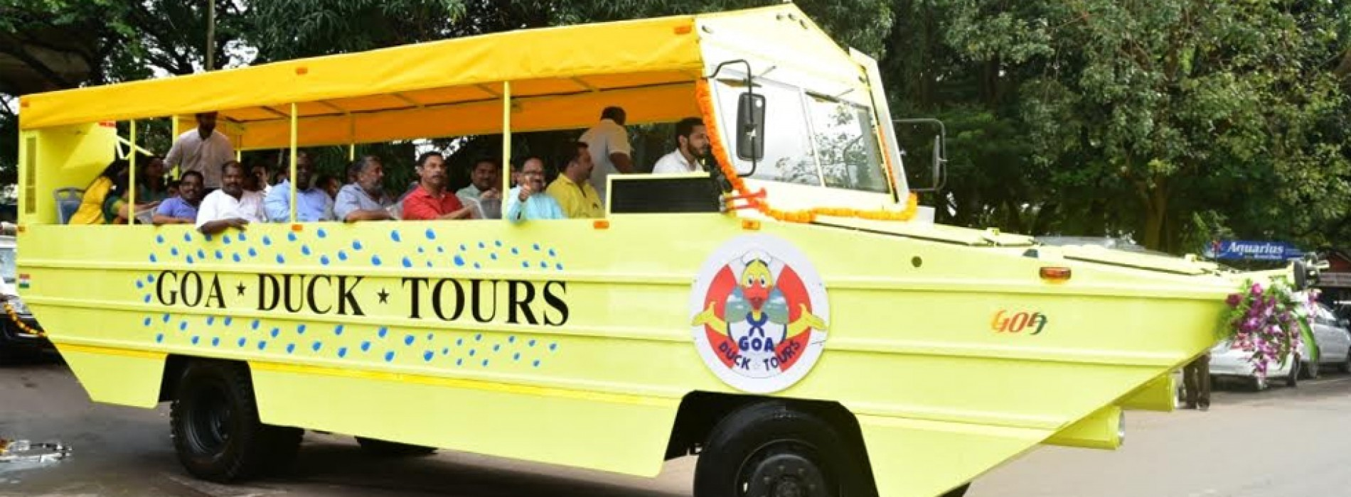 Goa first state to introduce Duck Boat Tours in India