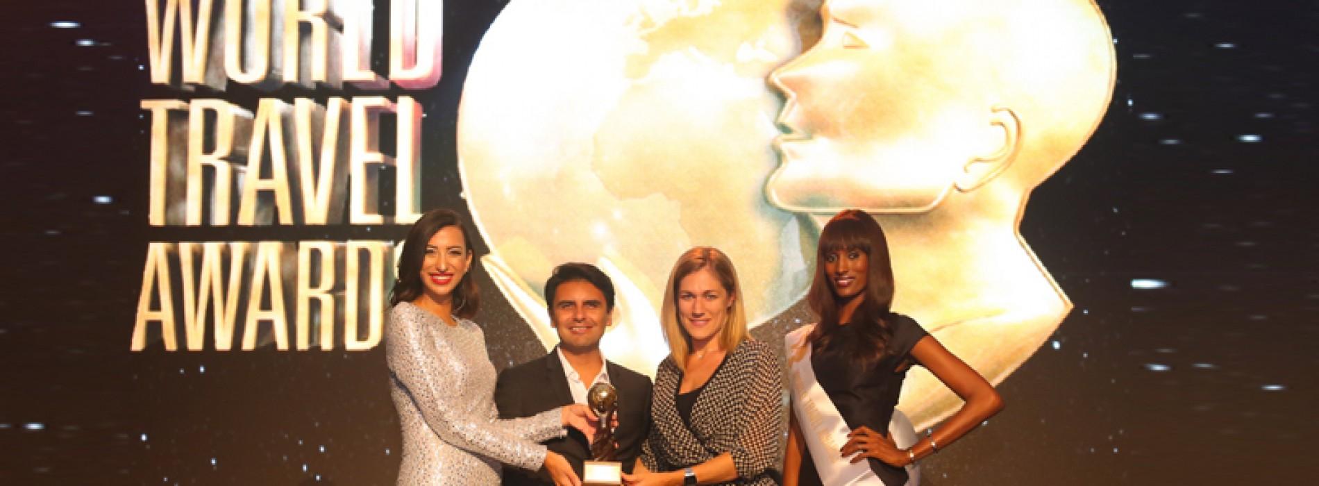 "Ferrari world wins the ""Leading Tourist Attraction Award"""