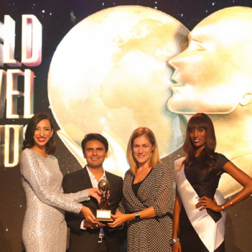 "Ferrari world wins the ""Leading Tourist Attraction Award"""